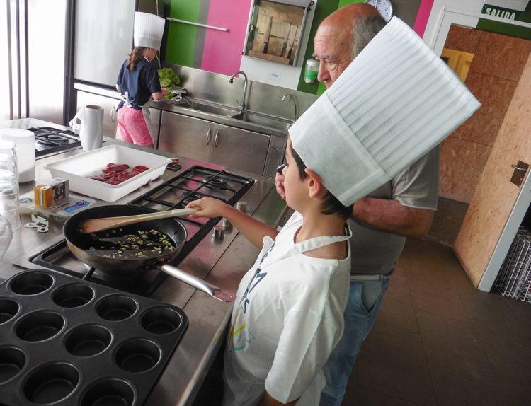 Concurso de Recetas 2017, cocinando