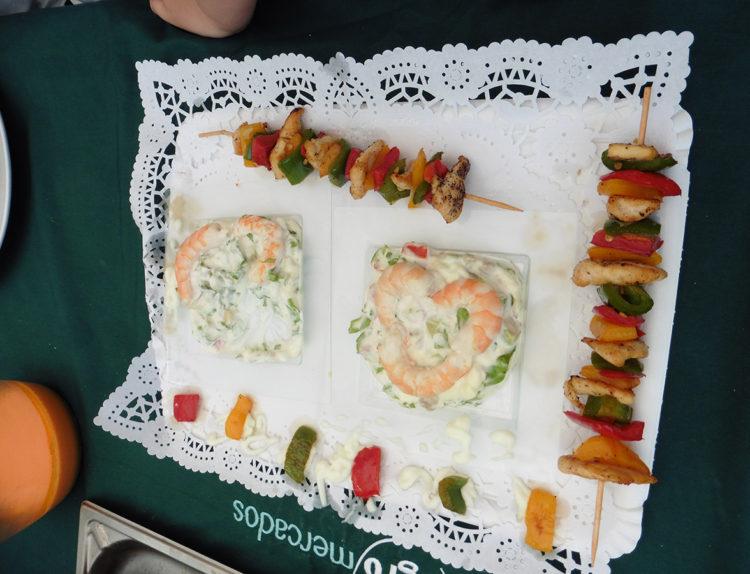 Degustación de platos a concurso