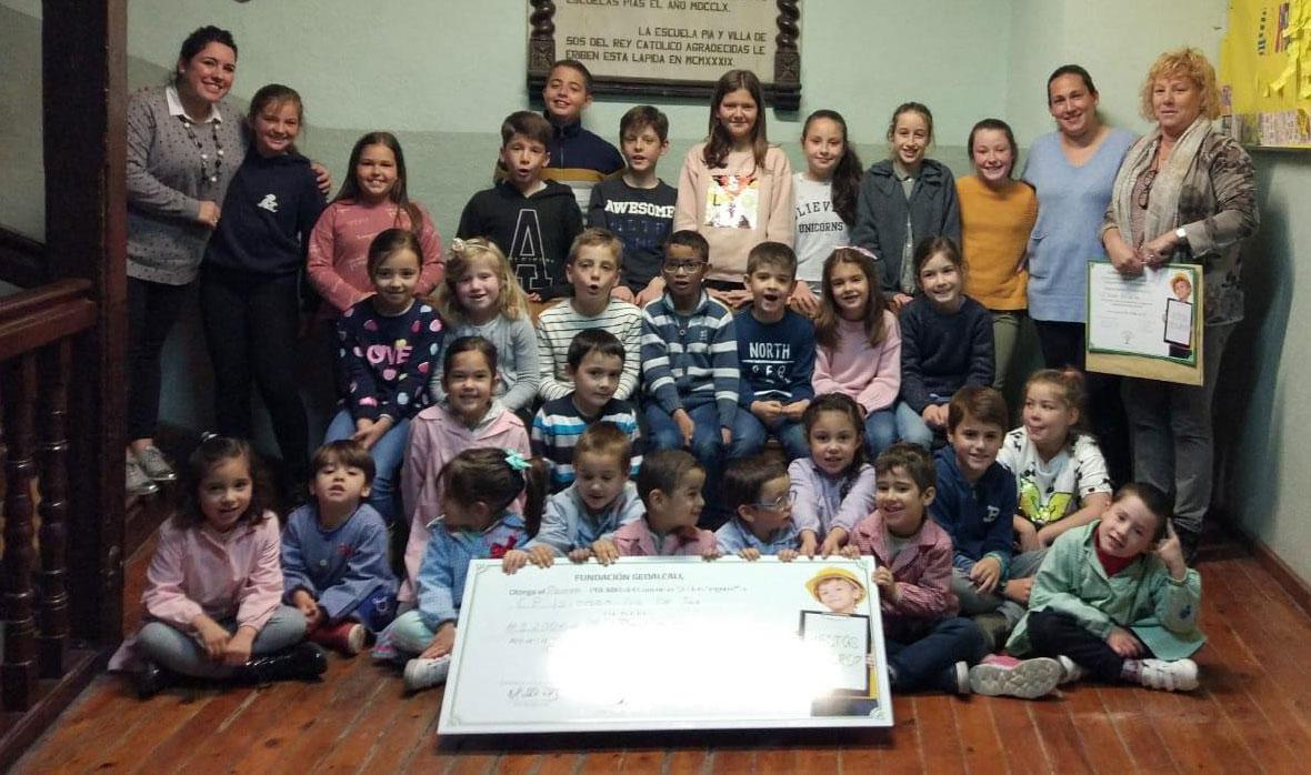 El Colegio Isidoro Gil de Jaz de Sos del Rey Católico, ganador del I Concurso Escolar sobre Seguridad y Salud