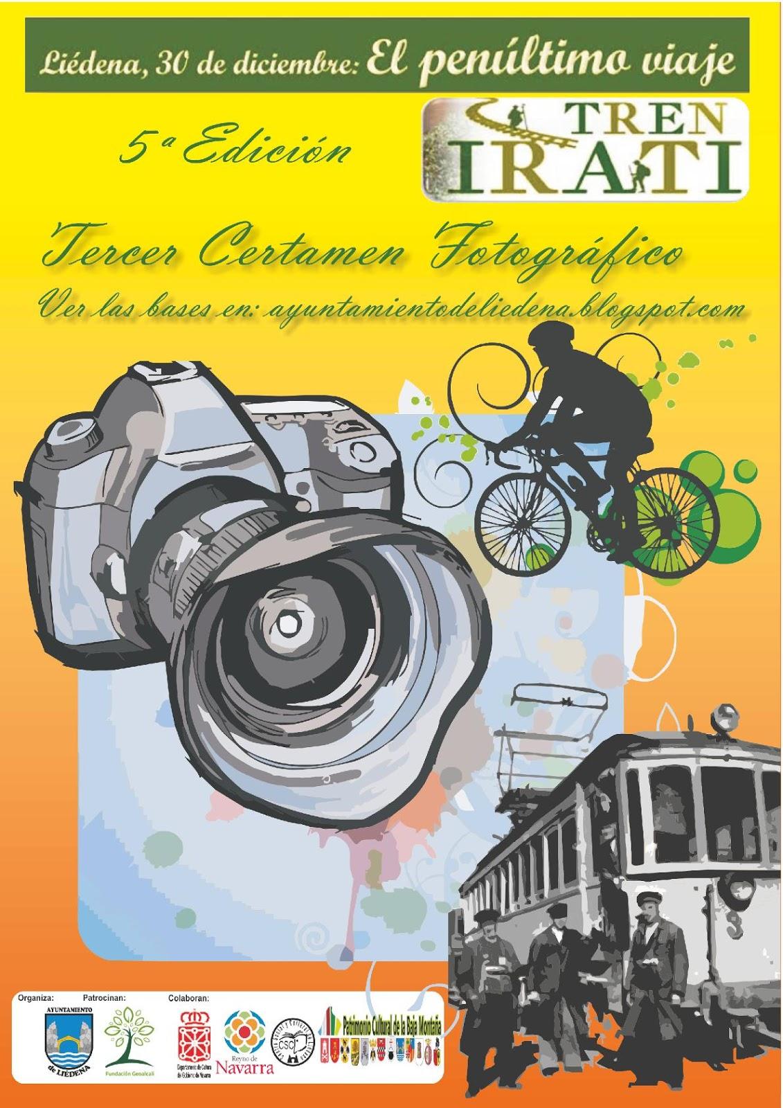 cartel fotografía tren 2019